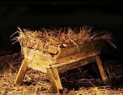 A Manger, a Donkey, a Guestroom, a Cross and a Tomb