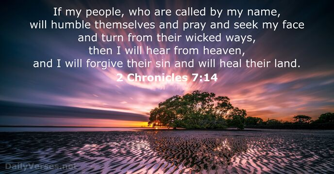 A Call to Repentance andHealing